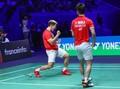 Kevin/Marcus Susah Payah Tekuk Li/Liu di BWF Tour Finals