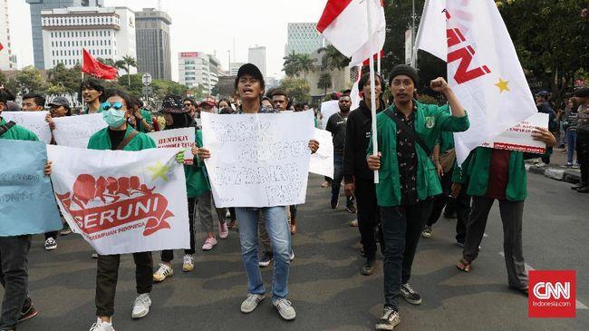 Demo Mahasiswa Bubar, Jalan Dekat Istana Kembali Dibuka