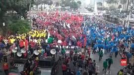 VIDEO: Teriakan 'Revolusi' di Demo 28 Oktober