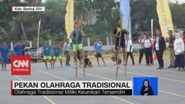VIDEO: Kemeriahan Pekan Olahraga Tradisional 2019