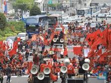 Siap-Siap! Musim Demo Buruh Tolak UMP Sudah Tiba