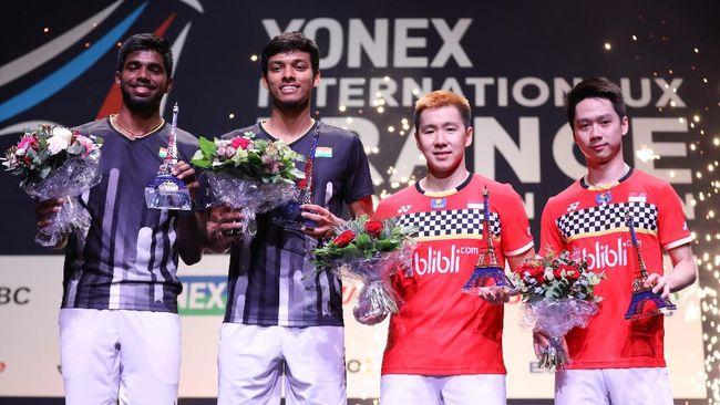 Fuzhou China Open: Fakta Jelang Minions vs Rankireddy/Shetty