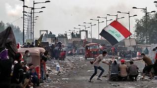 Tak Peduli PM Irak Bakal Mundur, Unjuk Rasa Jalan Terus