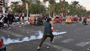 Demonstran Irak di Karbala Kembali Ditembaki, 3 Tewas