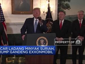 Incar Minyak Suriah, Trump Gaet ExxonMobil