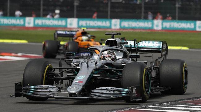 Menang F1 GP Meksiko, Hamilton Selangkah Lagi Juara Dunia