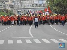 Besok! Gelombang Demo Buruh Dimulai, Ini Jadwalnya
