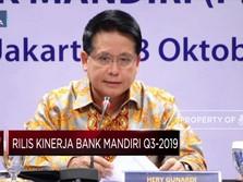 Laba Bank Mandiri Tumbuh 11,9% Jadi  Rp 20 T
