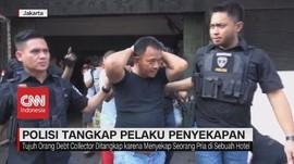 VIDEO: Penggerebekan Pelaku Penyekapan Bos Hotel