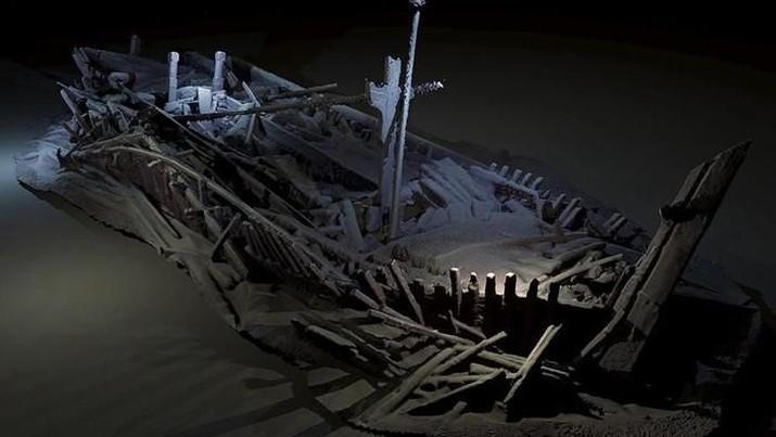 Terungkap Teka-teki Kapal Nabi Nuh, Benarkah di Laut Hitam?