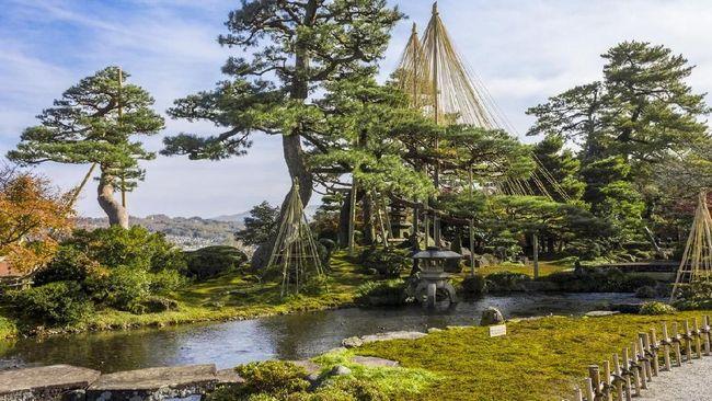 Kenrokuen Kanazawa, Taman Cantik Tempat Mengintai di Jepang