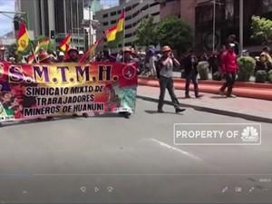 Ada Dugaan Pemilu Curang, Warga Bolivia Berdemo