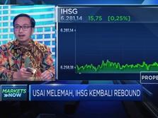 Sempat Melemah, IHSG Berhasil Rebound