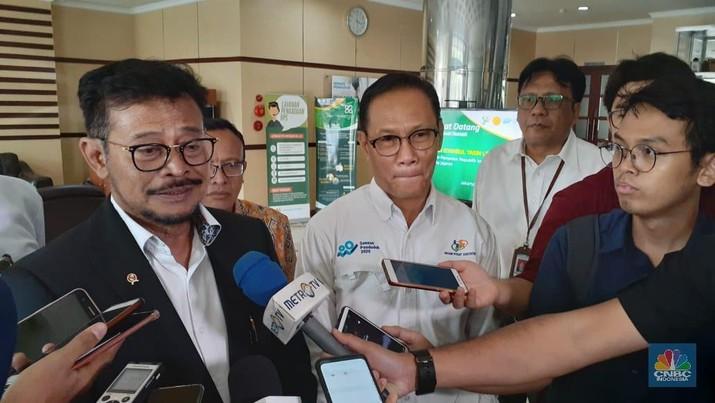 Mentan Limpo janji persoalan data pertanian selesai 100 hari semenjak dilantik.