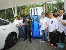Mobil Listrik Grab Akan Hadir di RI, Infrastruktur Siap?