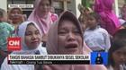 VIDEO: Tangis Bahagia Sambut Dibukanya Penyegelan Sekolah