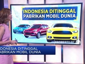 Indonesia Ditinggal Pabrikan Mobil Dunia