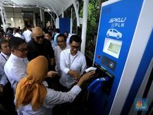 PLN Bakal Tambah 20 Unit SPKLU Mobil Listrik di Jakarta