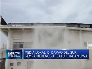 Gempa 6,8 M Guncang Mindanao Filipina