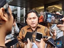 Erick Thohir: Nama Dirut Inalum & Mandiri Diputuskan Besok