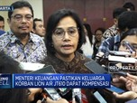 Sri Mulyani Pastikan Korban Lion Air JT610 Dapat Kompensasi