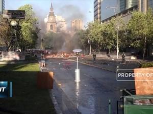 Kerusuhan Demo Chile Masuki Hari Kesepuluh