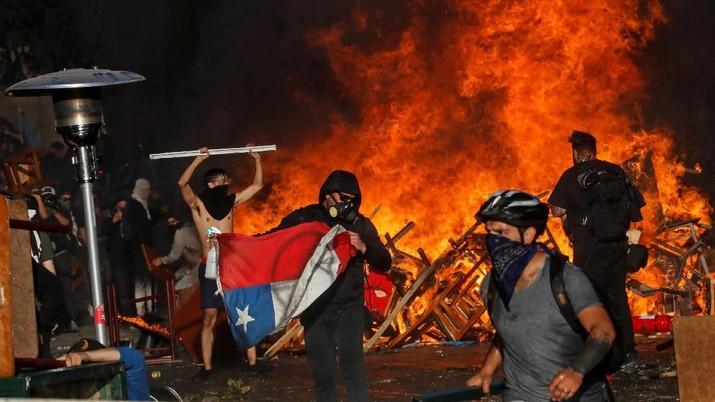 Astaga! Tambah Lagi Negara di Ambang Krisis: Chili