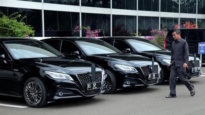 Mevvah! Ini Mobil Dinas Baru Pimpinan DPR/MPR & Menteri