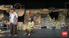 Teater Koma Pentaskan Lagi Lakon 'J.J Sampah-sampah Kota'