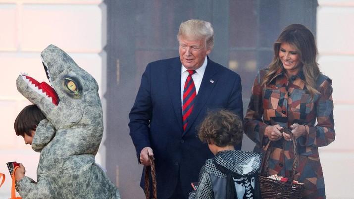 Keinginan incumbent Donald Trump untuk maju lagi sebagai Presiden AS di 2020 sepertinya bakal semakin terjal
