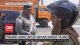VIDEO: Kena Tilang, Ibu Pinjam Uang Polisi Untuk Bayar Denda