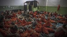 Napi ISIS Buat Rusuh dan Kabur dari Penjara Kurdi di Suriah