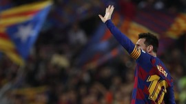 Cedera Satu Bulan, Messi Paling Tajam di Eropa pada 2019