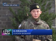 Telah Selesai Wamil, G-Dragon