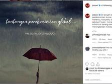 Ekonomi Global Tak Menentu, Jokowi Kok Pamer Foto Payung?