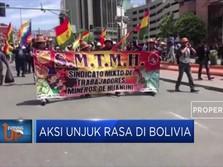 Aksi Unjuk Rasa di Bolivia