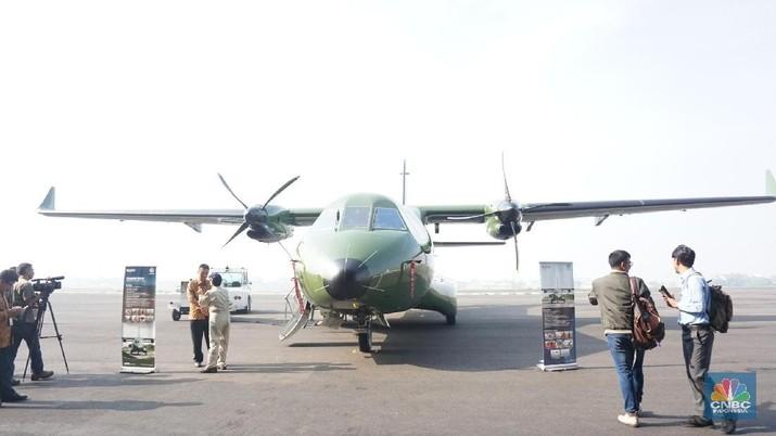 Pesawat CN235-220, merupakan pesawat multirole dengan daya angkut sebanyak 48 penumpang yang dapat digunakan untuk beberapa misi.