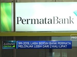 Laba Bersih Bank Permata Melonjak Lebih dari 2 kali Lipat