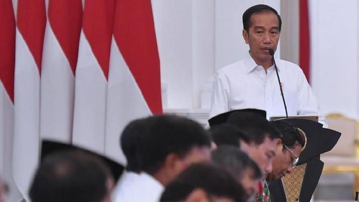 Demikian dikatakan Jokowi saat berbicara di Istana Kepresidenan, Jakarta, Senin (2/12/2019).
