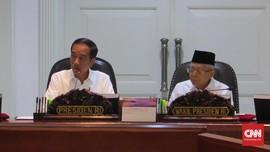 Global Lesu, Jokowi Bersyukur Ekonomi Masih Tumbuh 5 Persen