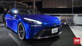 Mirai Fuel Cell atau kendaraan berbahan bakar gas hidrogen untuk mobilitas selama Olimpiade dan Paralimpiade Tokyo 2020.