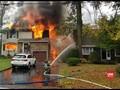 VIDEO: Pesawat Kecil Jatuh, Dua Rumah Terbakar