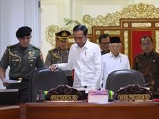 Ekonomi Tak Capai 7%, Jokowi: Lebih Sedikit 5% Sudah Bagus
