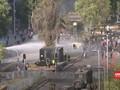 VIDEO: Pedemo Bentrok di Depan Istana Presiden Chile