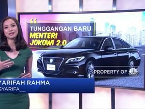 Intip Mobil Mewah Menteri Jokowi Jilid 2