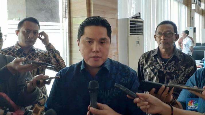 Menteri Badan Usaha Milik Negara (BUMN) Erick Thohir resmi melantik beberapa pejabat baru di lingkungan kementerian.