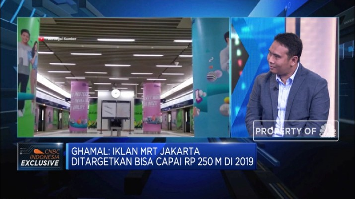 Business Development Director MRT Jakarta, Ghamal Peris menyebutkan perusahaan akan menjadikan pendapatan non tiket
