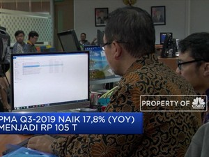 Realisasi Investasi Q3-2019 Tumbuh 15,4%