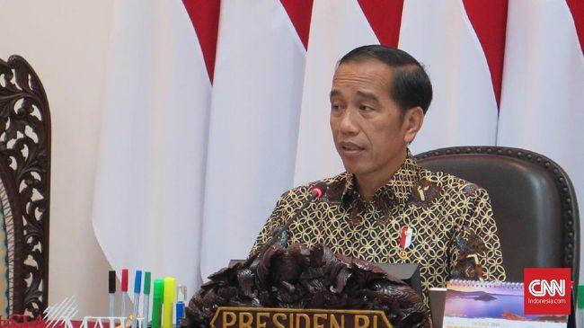 Jokowi Minta Anggaran Pertahanan Tak Dipakai untuk Impor