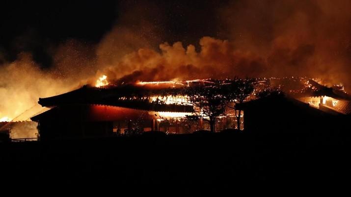 Istana Shuri, Warisan Budaya Dunia di Jepang Ludes Terbakar